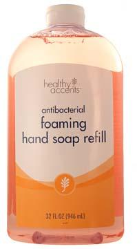 Healthy Accents Antibacterial Foam Hand Soap Refill