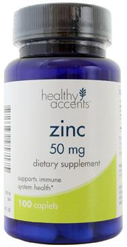 Healthy Accents Zinc Gluconate 50 mg