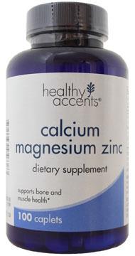 Healthy Accents Calcium Magnesium Zinc