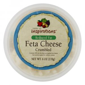 Taste of Inspirations Reduced Fat Crumbled Feta Cheese