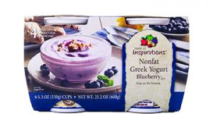Taste Of Inspirations Greek Blueberry Yogurt