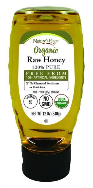 Nature's Place Organic Raw Honey
