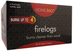 Home 360 4-Hour Firelogs