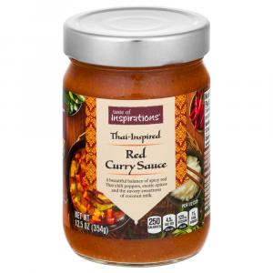 Taste of Inspirations Thai Red Curry Cooking Sauce