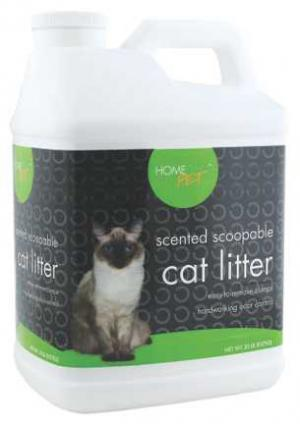Home 360 Pet Scented Scoopable Cat Litter Jug