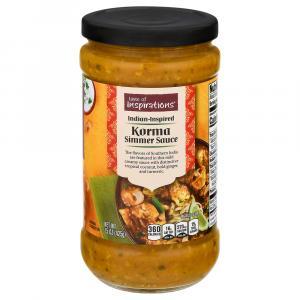 Taste of Inspirations Korma Simmer Sauce