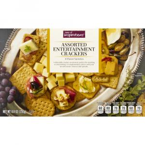 Taste of Inspirations Assorted Entertainment Crackers