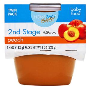 Home 360 Baby 2nd Stage Peach Baby Food