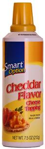 Smart Option Cheddar Cheese In A Can