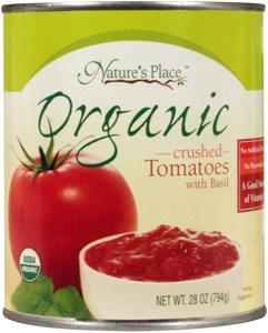Nature's Place Organic Crushed Tomatoes With Basil