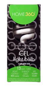 Home 360 13-watt Cfl Bulb