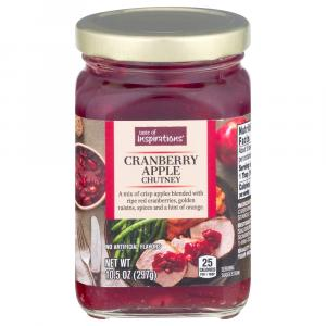 Taste Of Inspirations Cranberry Apple Chutney