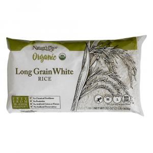 Nature's Place Organic Long Grain White Rice