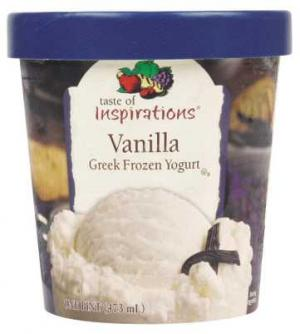 Taste Of Inspirations Vanilla Greek Frozen Yogurt