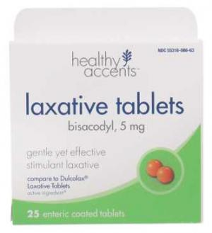 Healthy Accents Laxative Tabs