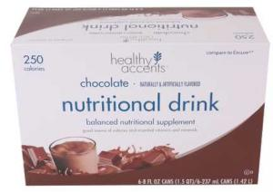 Healthy Accents Nutrafit Chocolate Nutritional Drink