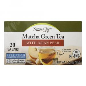 Nature's Place Matcha Green Tea With Asian Pear