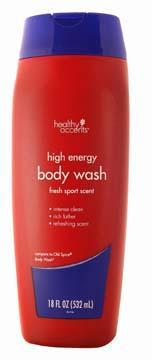 Healthy Accents Fresh Sport Body Wash