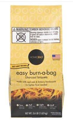 Home 360 Bag Burn Charcoal