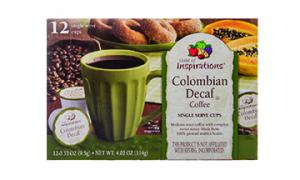 Taste Of Inspirations Columbian Blend Decaf Cups