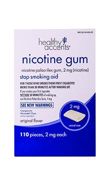 Healthy Accents Original 2mg Nicotene Gum