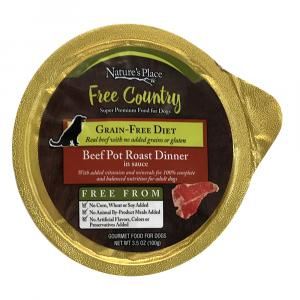 Nature's Place Beef Pot Roast Dinner Wet Dog Food
