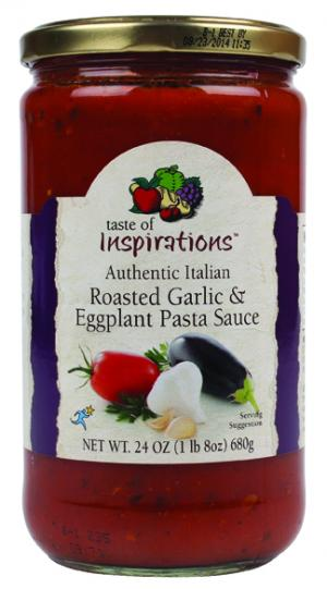Taste Of Inspirations Roasted Garlic & Eggplant Pasta Sauce