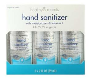 Healthy Accents Hand Sanitizer