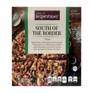 Taste Of Inspirations South of the Border Pizza