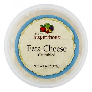 Taste of Inspirations Crumbled Feta Cheese