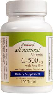 Nature's Place Vitamin C 500 Mg W/rose Hips