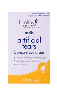 Healthy Accents Artificial Tears