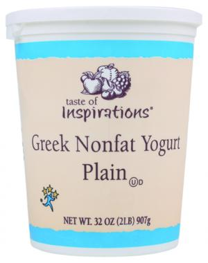 Taste Of Inspirations Greek Nonfat Plain Yogurt