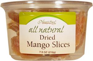 Nature's Place All Natural Mango Slices