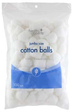 Healthy Accents Jumbo Cotton Balls