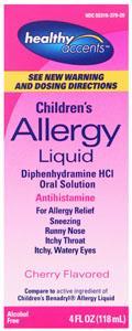 Healthy Accents Diphedryl Elixir
