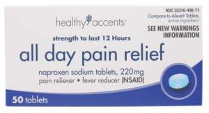 Healthy Accents Naproxen Sodium Tablets