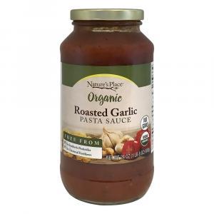 Nature's Place Organic Roasted Garlic Pasta Sauce