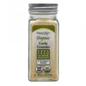 Nature's Place Organic Garlic Granules