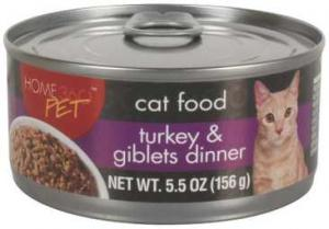 Home 360 Pet Turkey & Giblets Cat Food