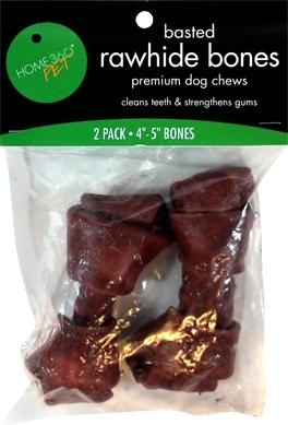 Home 360 Pet Basted Rawhide Bones