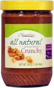 Nature's Place Natural Crunchy Peanut Butter
