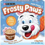 Nestle Frosty Paws Peanut Butter Bars for Dogs