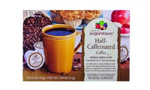 Taste Of Inspirations Half-caffinated Coffee Single Serve