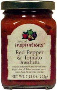 Taste Of Inspirations Roasted Red Pepper/tomato Brushetta