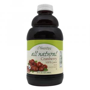 Nature's Place All Natural 100% Cranberry Juice