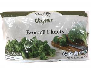 Nature's Place Organic Frozen Broccoli Florets