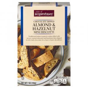 Taste of Inspirations Almond & Hazelnut Mini Biscotti