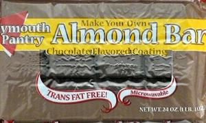 Plymouth Pantry Chocolate Almond Bark Coating