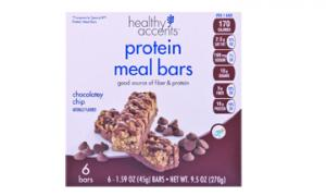 Healthy Accents Chocolatey Chip Protein Meal Bars